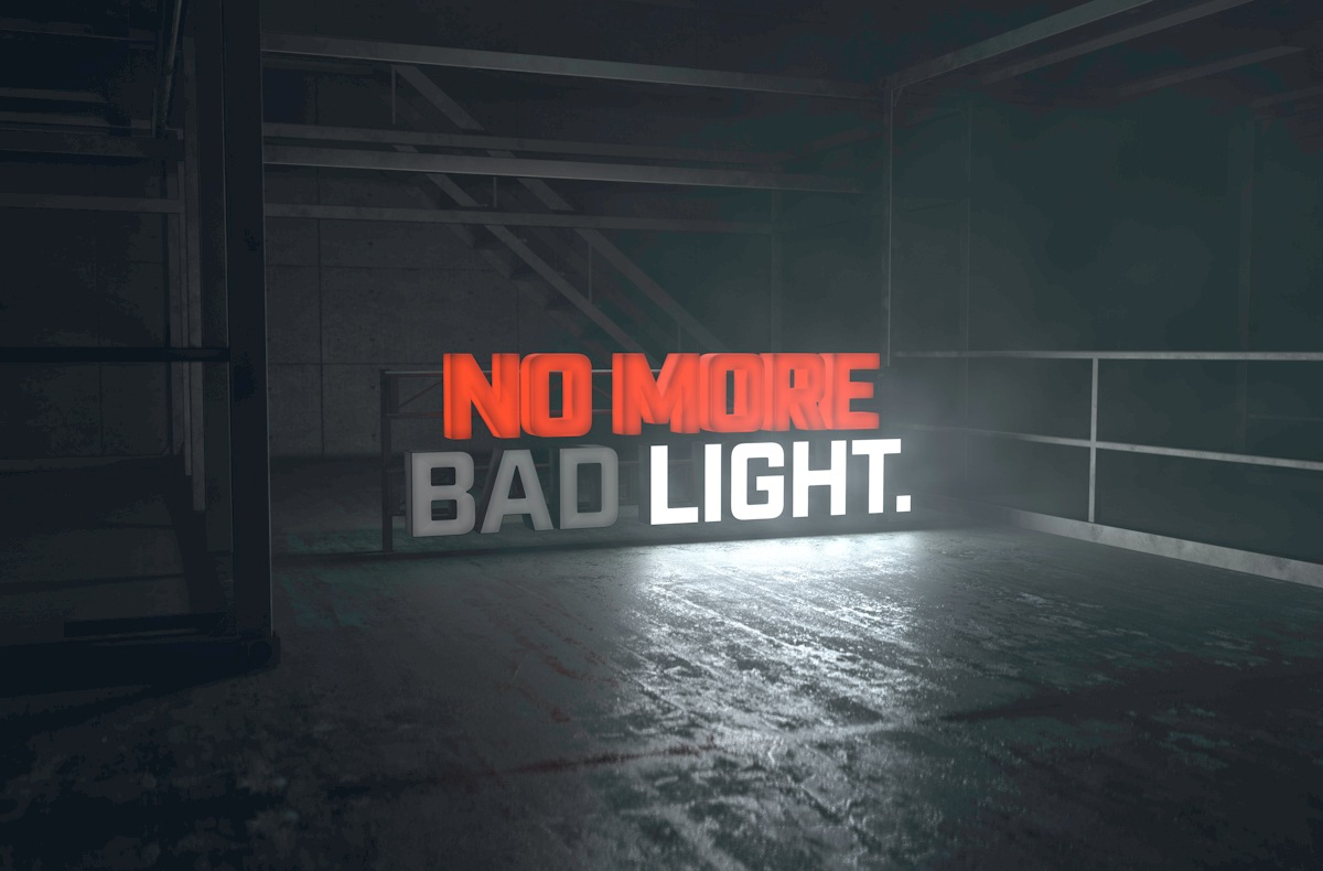 No More Bad Light